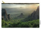 Meteora Greece Sunset Carry-all Pouch