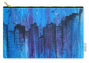 Metropolis In Blue Carry-all Pouch