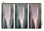 Metropolis Rush Hour Triptych Carry-all Pouch