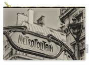 Metropolitain Carry-all Pouch