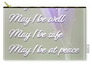 Metta Mantra Carry-all Pouch