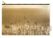 Metzgers Marsh In Fog Carry-all Pouch