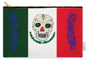 Mexican Flag Of The Dead Carry-all Pouch