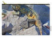 Mexican Iguana Carry-all Pouch