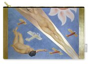 Mexican Mural Painting Carry-all Pouch
