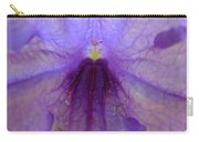 Mexican Petunia Macro Carry-all Pouch