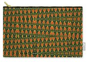 Mexican Poppy Field Abstract Carry-all Pouch