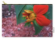 Mexican Sunflower In Mid Bloom Carry-all Pouch