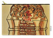 Mexico: Aztec Sacrifice Carry-all Pouch