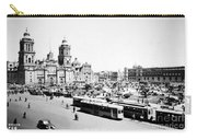 Mexico City: Zocalo, C1930 Carry-all Pouch