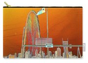 Mhh Bridge Abstract Carry-all Pouch
