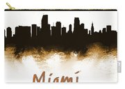 Miami Fla 2 Skyline Carry-all Pouch