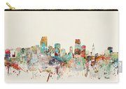 Miami Florida City Skyline Carry-all Pouch
