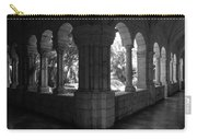 Miami Monastery In Black And White Carry-all Pouch