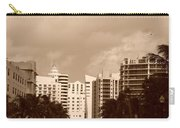 Miami  Sepia Sky Carry-all Pouch