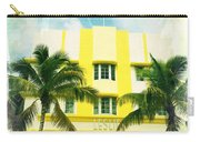 Miami South Beach Ocean Drive 2 Carry-all Pouch