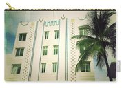 Miami South Beach Ocean Drive 3 Carry-all Pouch