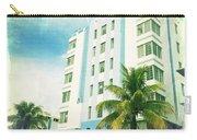 Miami South Beach Ocean Drive 4 Carry-all Pouch