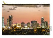 Miami Sunset Skyline Carry-all Pouch