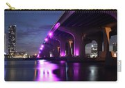Miami Under The 395 At Night Carry-all Pouch