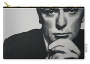 Michael Caine 2013 Carry-all Pouch by Luis Ludzska