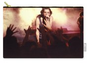 Michael Hutchence And Inxs 1985 Carry-all Pouch by Sean Davey