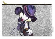 Michael Jackson-mickey Mouse Carry-all Pouch