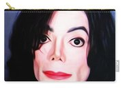 Michael Jackson Mugshot Carry-all Pouch by Bill Cannon