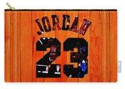 Michael Jordan Wood Art 1c Carry-all Pouch