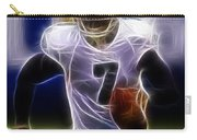 Michael Vick - Philadelphia Eagles Quarterback Carry-all Pouch by Paul Ward