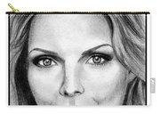 Michelle Pfeiffer In 2010 Carry-all Pouch by J McCombie