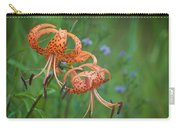 Michigan Lilly Carry-all Pouch