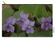 Michigan Purple Spring Flowers Carry-all Pouch