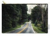 Michigan Rural Roadway In September Carry-all Pouch