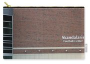 Michigan State University Skandalaris Football Center Signage Carry-all Pouch
