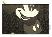 Mickey Mat Sepia Carry-all Pouch