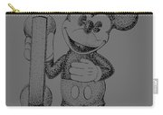 Mickey Mouse Novelty Phone Patent 1978 Carry-all Pouch