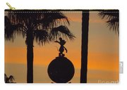 Mickey Mouse Sihouette Carry-all Pouch