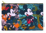 Mickey Mouse Vs. Minnie Mouse Stage On Carry-all Pouch