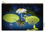 Mid Day Water Lily Reflection Carry-all Pouch