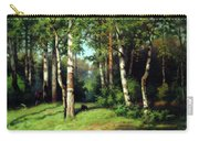 Midday Warmth In A Forest Impressionism Carry-all Pouch