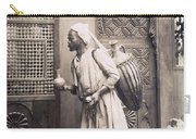 Middle Eastern Street Vendor Carry-all Pouch