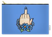Middle Finger Carry-all Pouch