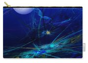 Midnight Abstract Carry-all Pouch