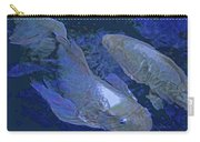 Midnight Blue Koi Carry-all Pouch