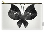 Midnight Butterfly 2- Art By Linda Woods Carry-all Pouch