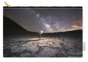 Midnight Explorer At Badwater Basin  Carry-all Pouch