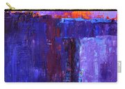 Midnight Glow Abstract Carry-all Pouch