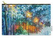 Midnight Snow Songs  Carry-all Pouch