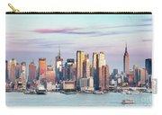 Midtown Manhattan Skyline At Sunset, New York City, Usa Carry-all Pouch